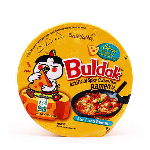 SAMYANG Cheese Hot Chicken Flavor Ramen Big Bowl 105g (3.70oz)