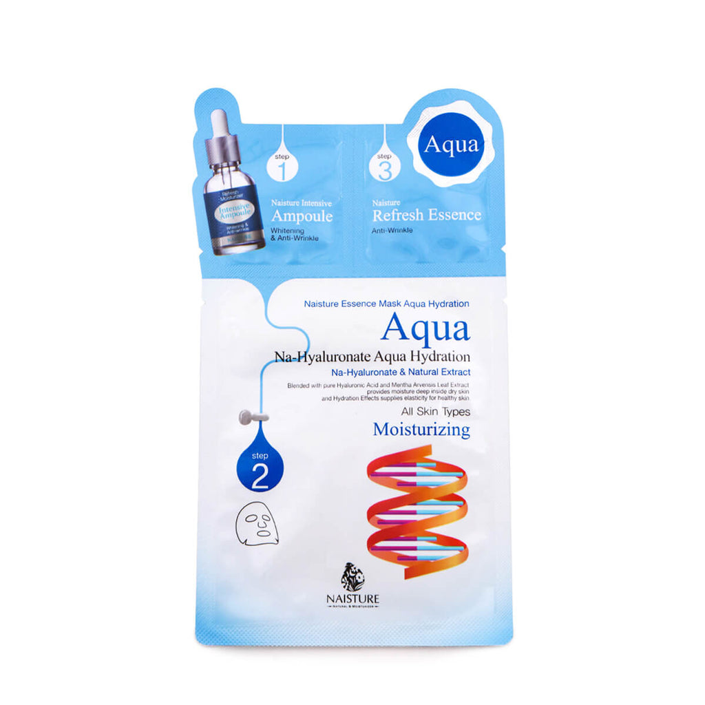 NAISTURE Essence Mask Aqua Hydration 5 Masks