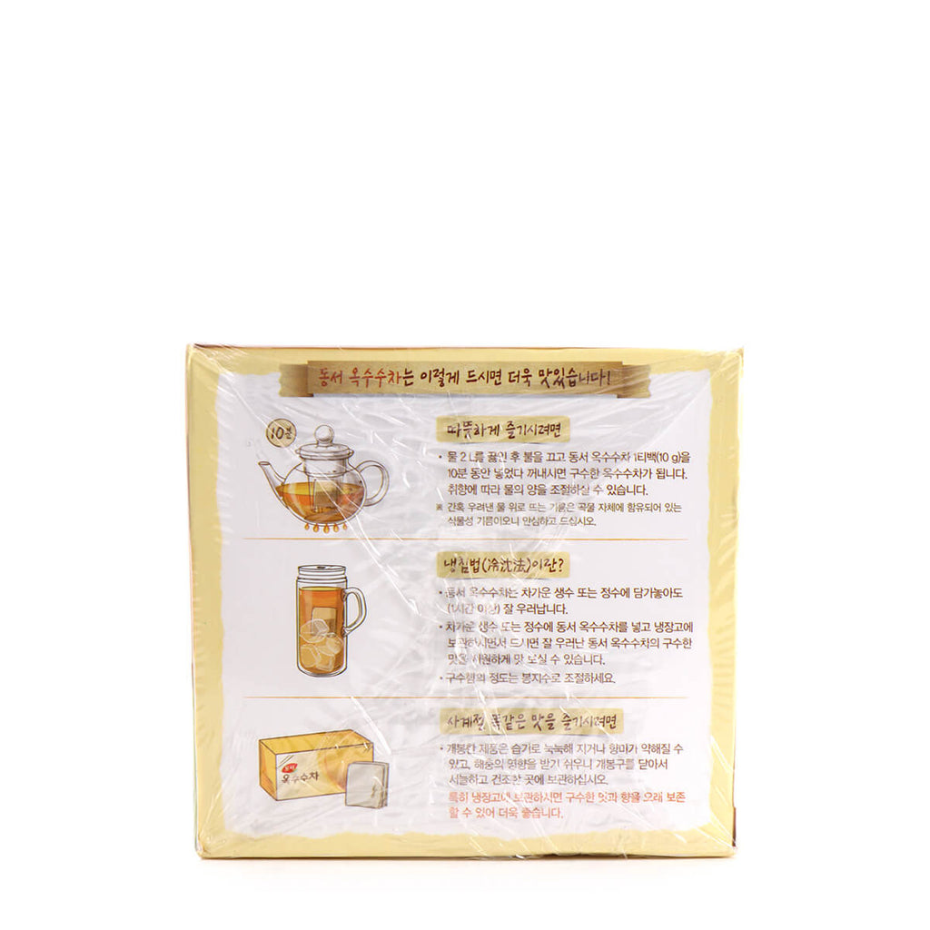 Dongsuh Corn Tea 30ea, 10.58oz(300g)