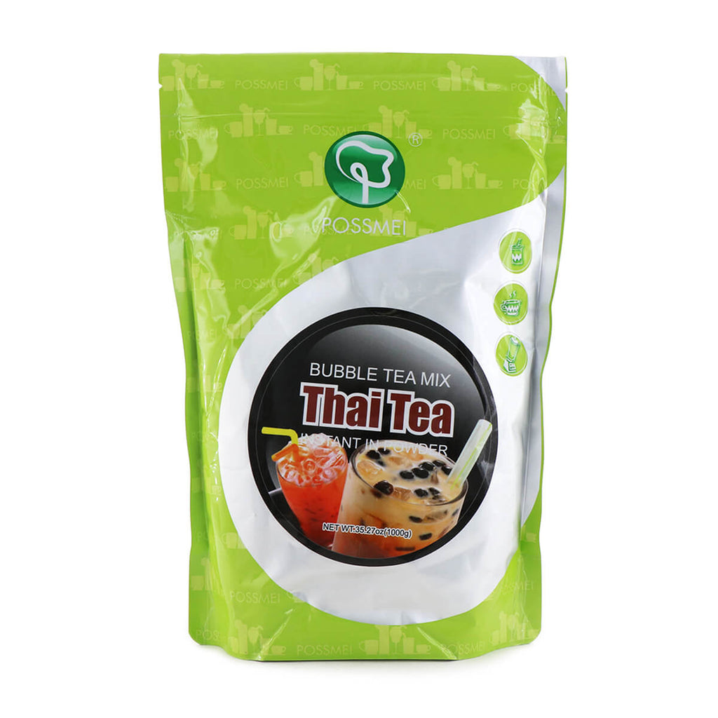 POSSMEI Bubble Tea Mix Thai Tea Instant in Powder 35.27oz (1000g)