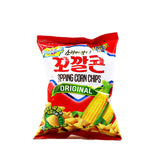 LOTTE Popping Corn Chips Original 2.53oz (72g)