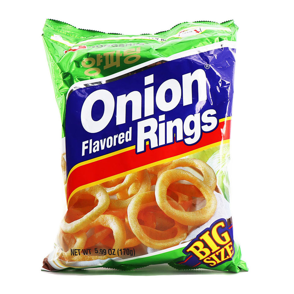 NONGSHIM Onion Flavored Rings Big Size 5.99oz(170g)
