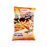 CALBEE Shrimp Chips Baked Hot Garlic 3.3oz (94g)
