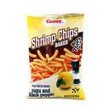 Calbee Shrimp Chips Baked Yuzu and Black Pepper 3.3oz(94g)