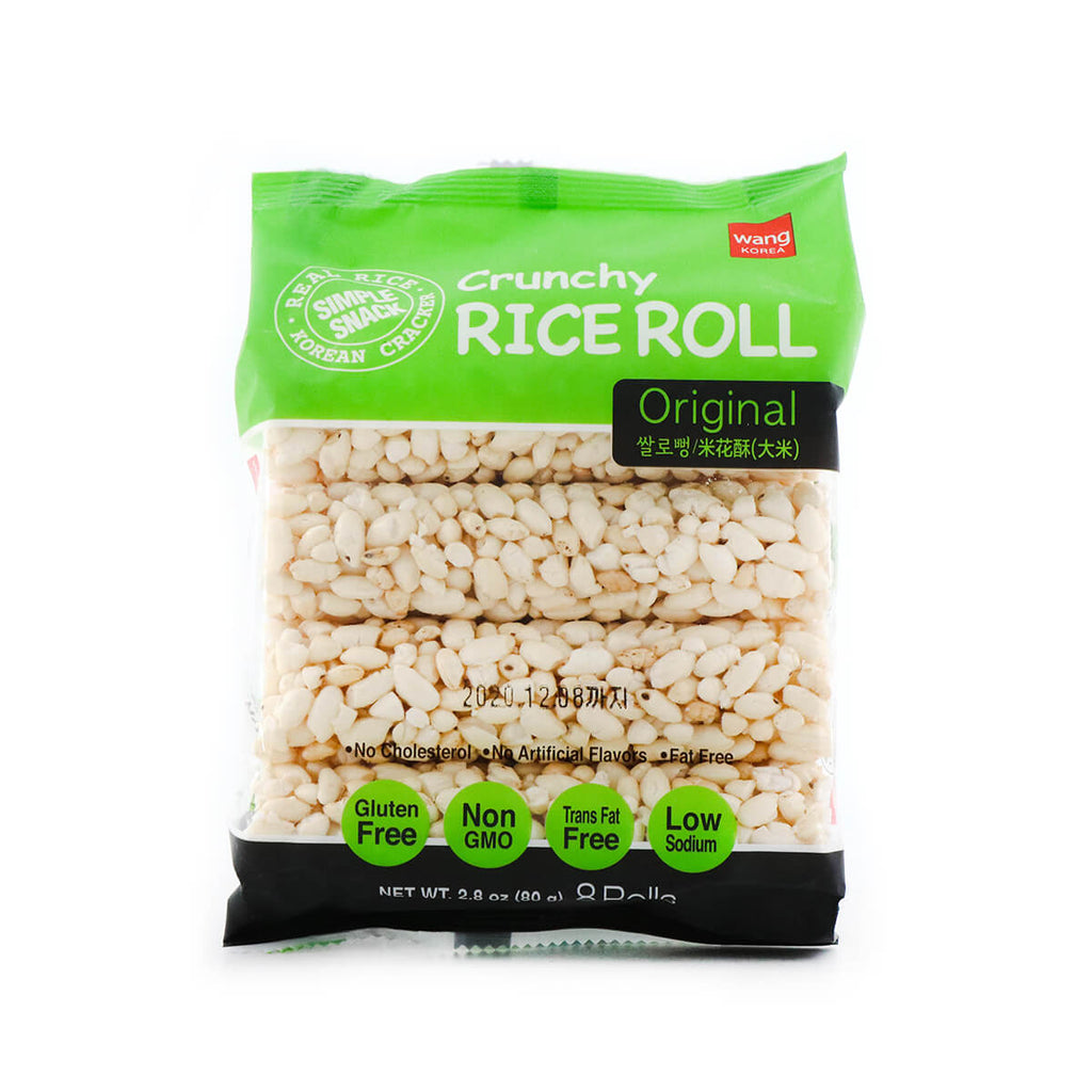 WangKorea Original Crunchy Rice Roll 2.8oz (80g)