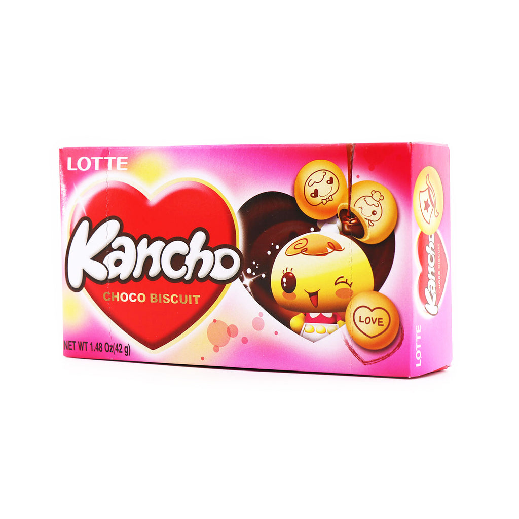 LOTTE Kancho Choco Biscuit 1.48oz(42g)