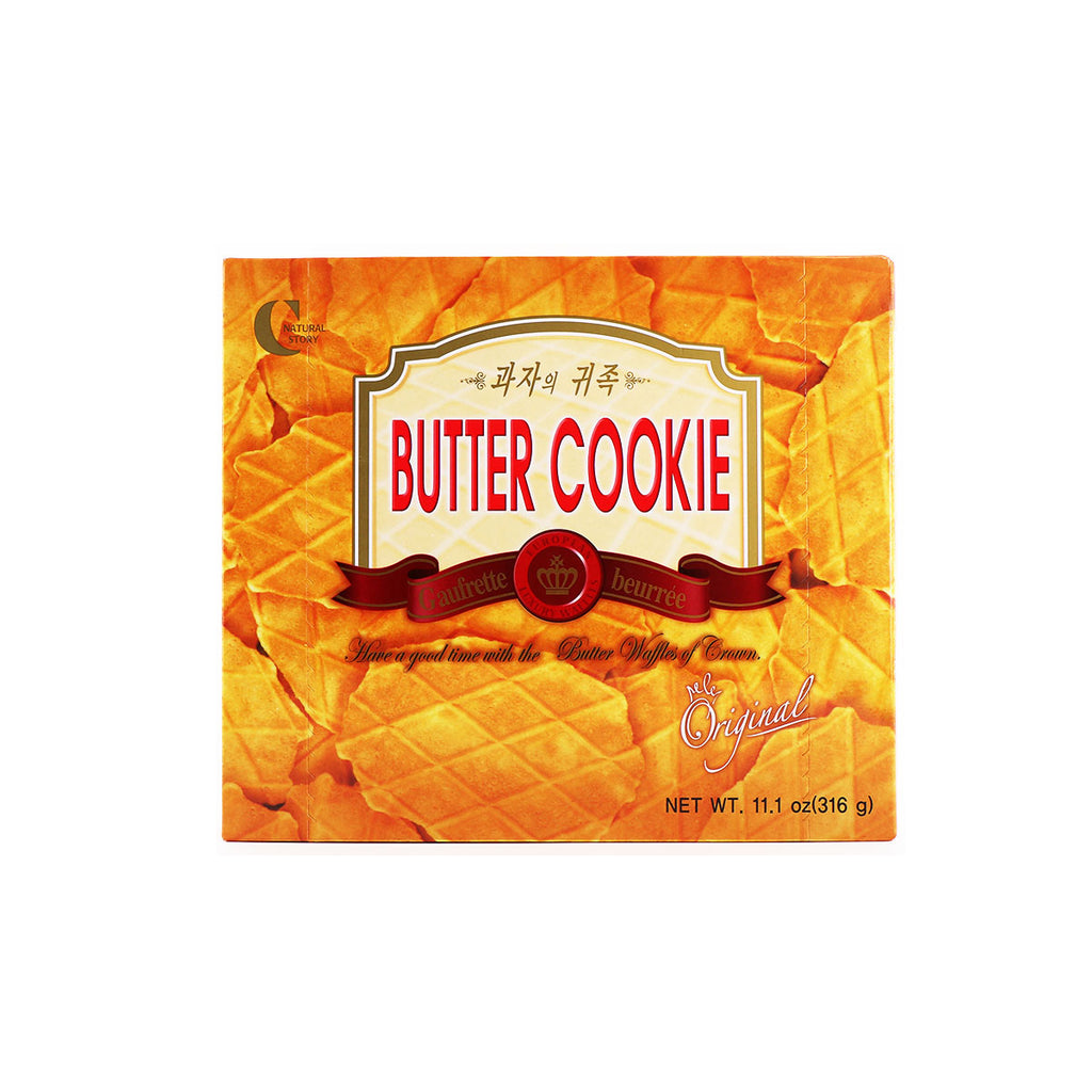 Crown Butter Cookie Wattles Original 11.1oz (316g)