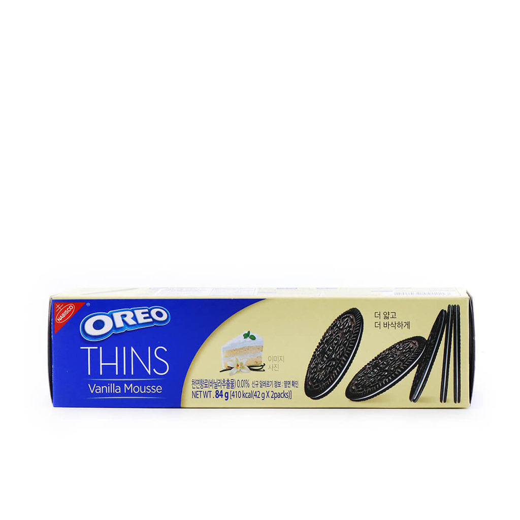 NABISCO Oreo Thins Vanilla Mousse 2.96oz (84g)