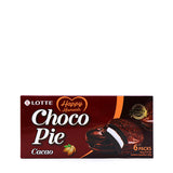 LOTTE Choco Pie Cacao 6 Packs 5.92oz (168g)