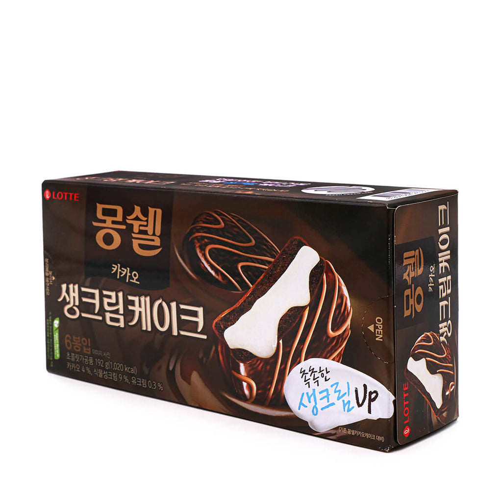 LOTTE Dream Cake Cacao Cake 6 Packs 6.77oz (192g)