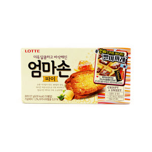 LOTTE Family Pie (Butter Flavored Cookies) 10 Packs 127g