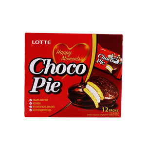LOTTE Choco Pie Special combo Pack (Choco Pie 12Packs + Cacao 6Packs)