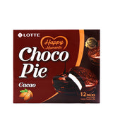 LOTTE Choco Pie Cacao 12Packs, 11.85oz(336g)