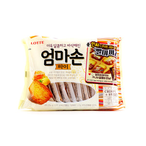 LOTTE Mom's Homemade Butter Flavored Pie 20 Packs 254g