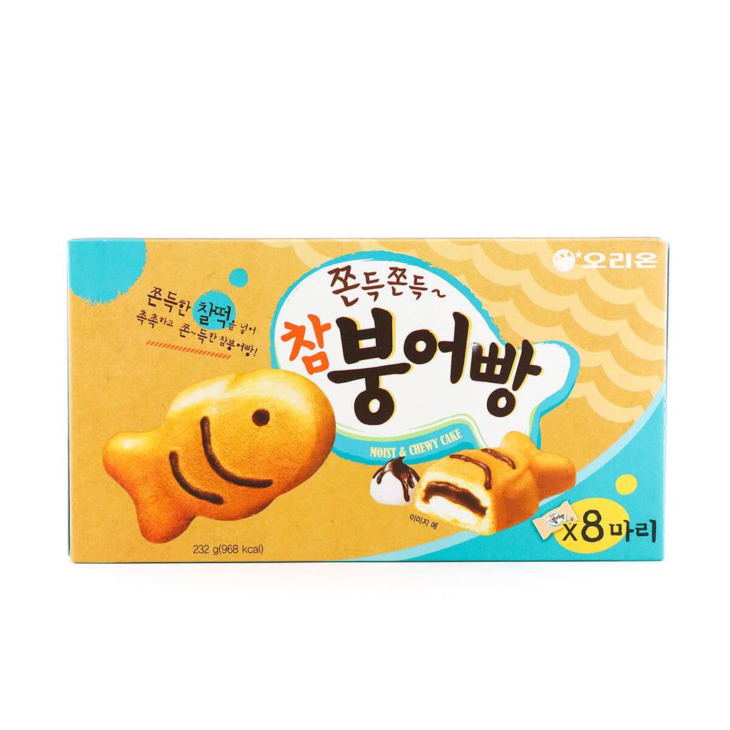 ORION Moist&Chewy Chambungeobbang Korean Soft Cake 8packs 8.12oz (232g)