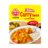 OTTOGI 3Min. Curry Spicy 6.70oz (190g)