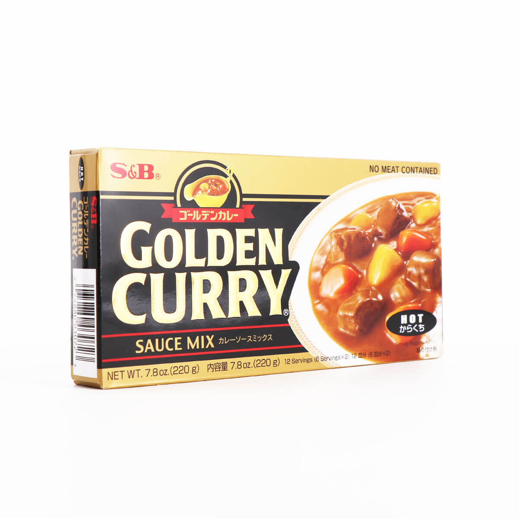 S&B Golden Curry Sauce Mix Hot 7.8oz(220g) - Asian Mart