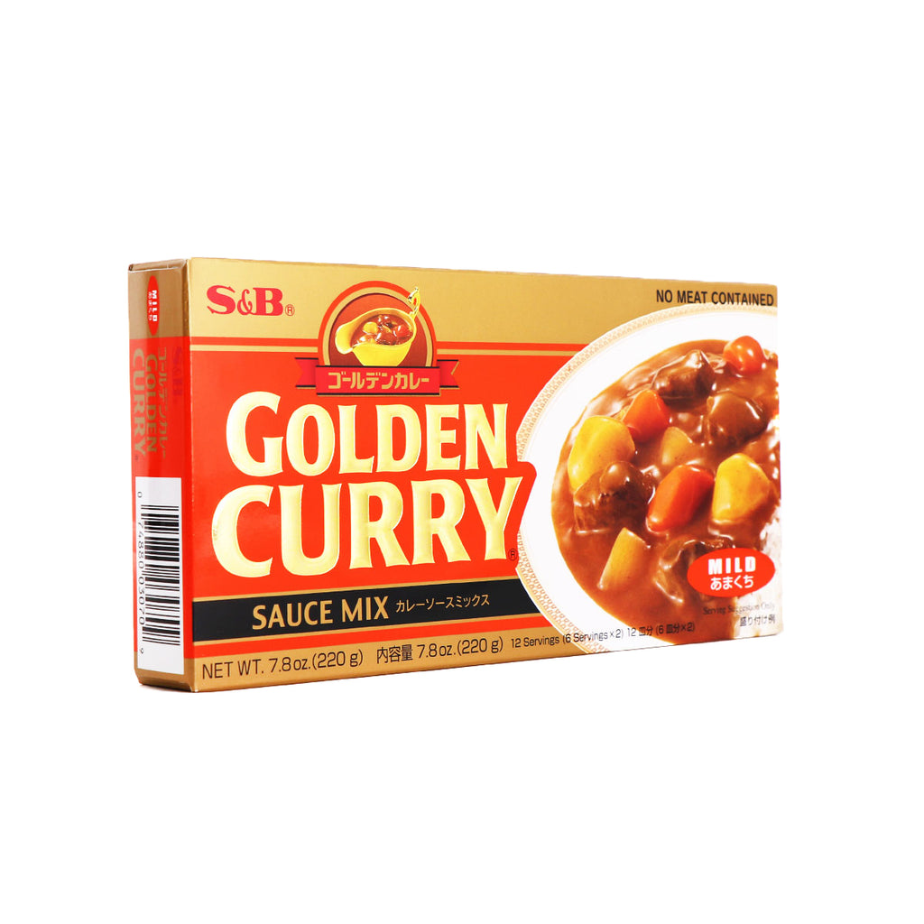 S&B Golden Curry Sauce Mix Mild 7.8oz (220g)