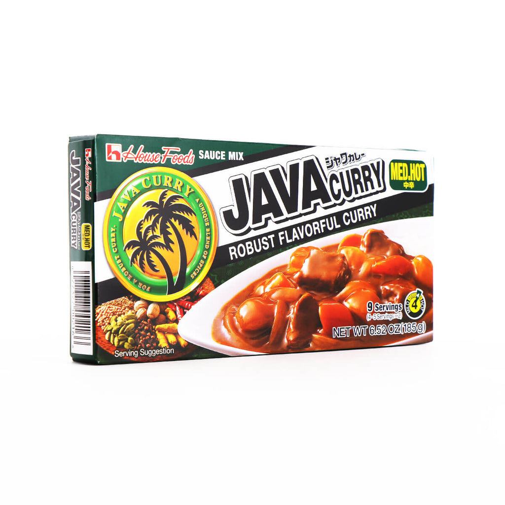 House Foods Java Curry Medium Hot 6.52oz(185g) - Asian Mart