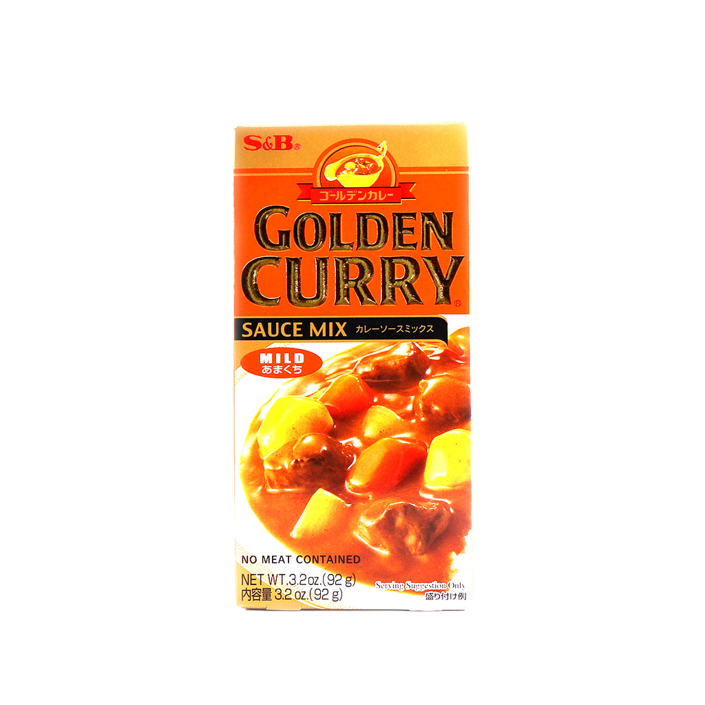 S&B Golden Curry Sauce Mix Mild 3.2oz(92g)