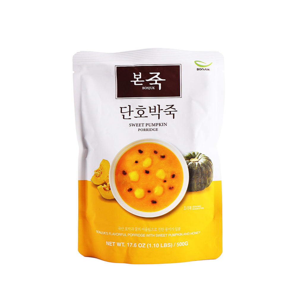 BONJUK Sweet Pumpkin Porridge 17.6oz (1.1lb) 500g