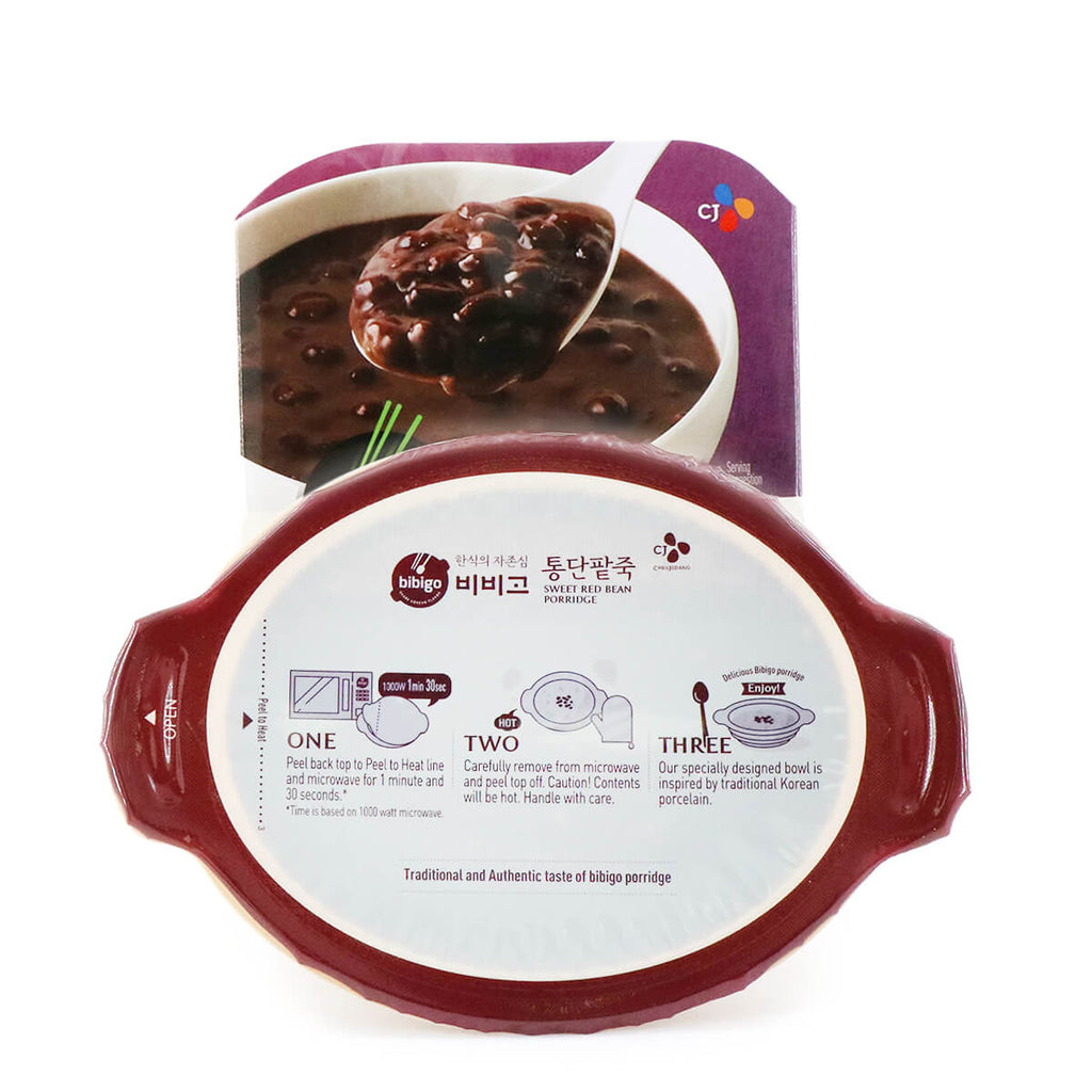 BIBIGO Sweet Red Bean Porridge 9.88oz (280g)