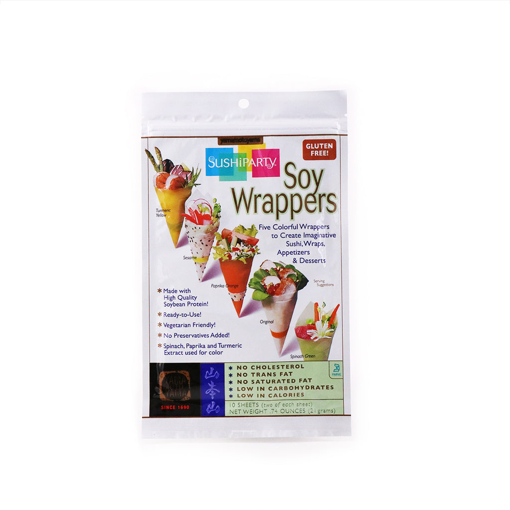 YAMAMOTOYAMA Sushi Party Soy Wrappers 10 Sheets, 0.74oz (21g)