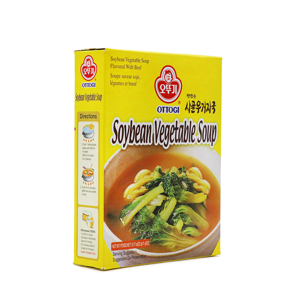 OTTOGI Instant Beef Bone & Vegetable Soup 0.77oz (22g)