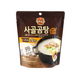 BEKSUL Beef Stock Soup, 20g x 5 Cups, 100g