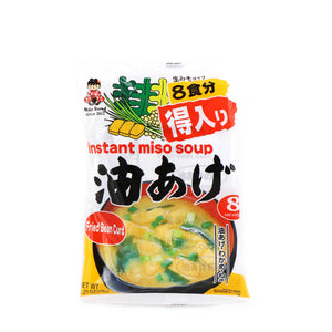 MIKO Instant Miso Soup Abura-age (Fried Bean Curd) 6.21oz (176g)