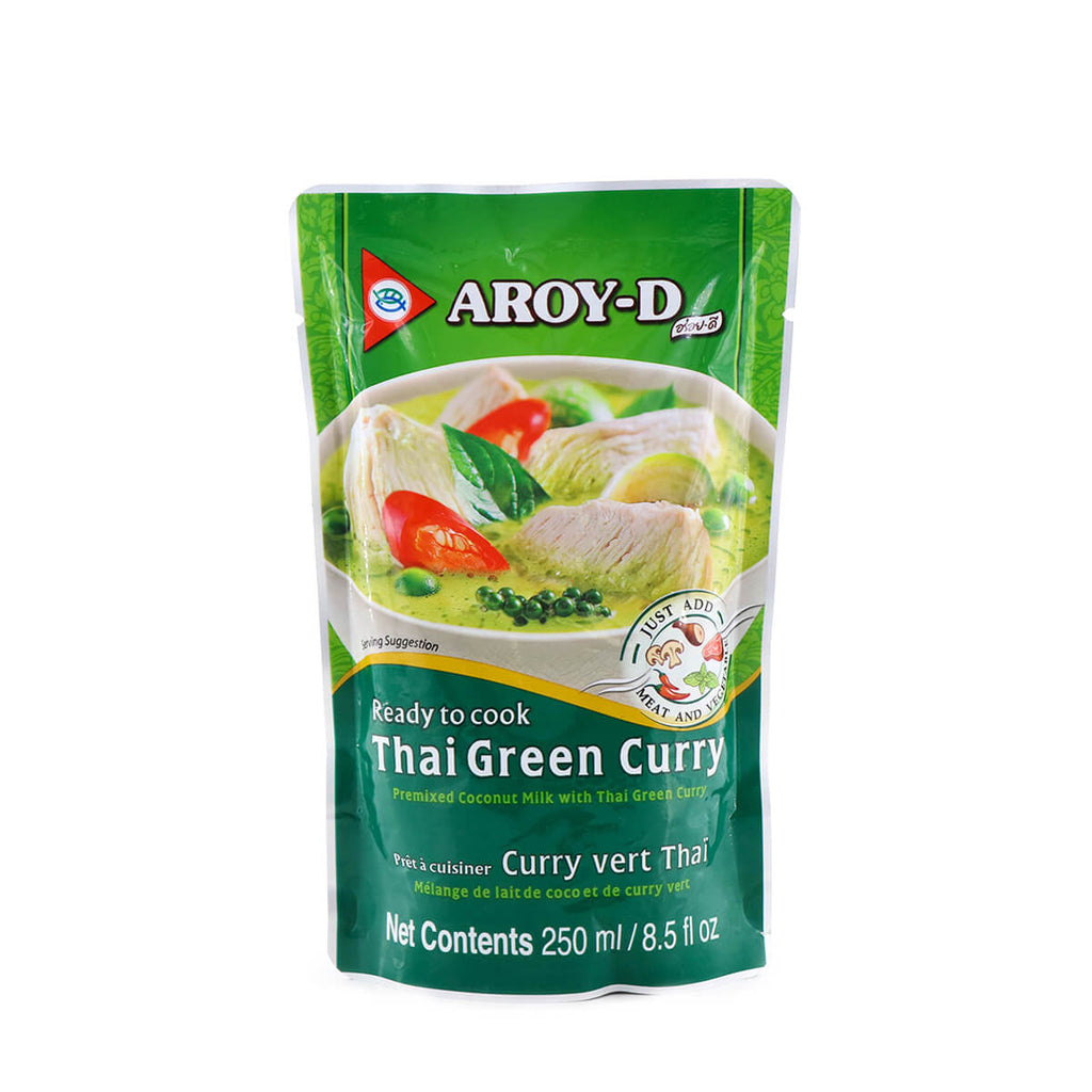 AROY-D Thai Green Curry 250ml (8.5fl.oz)
