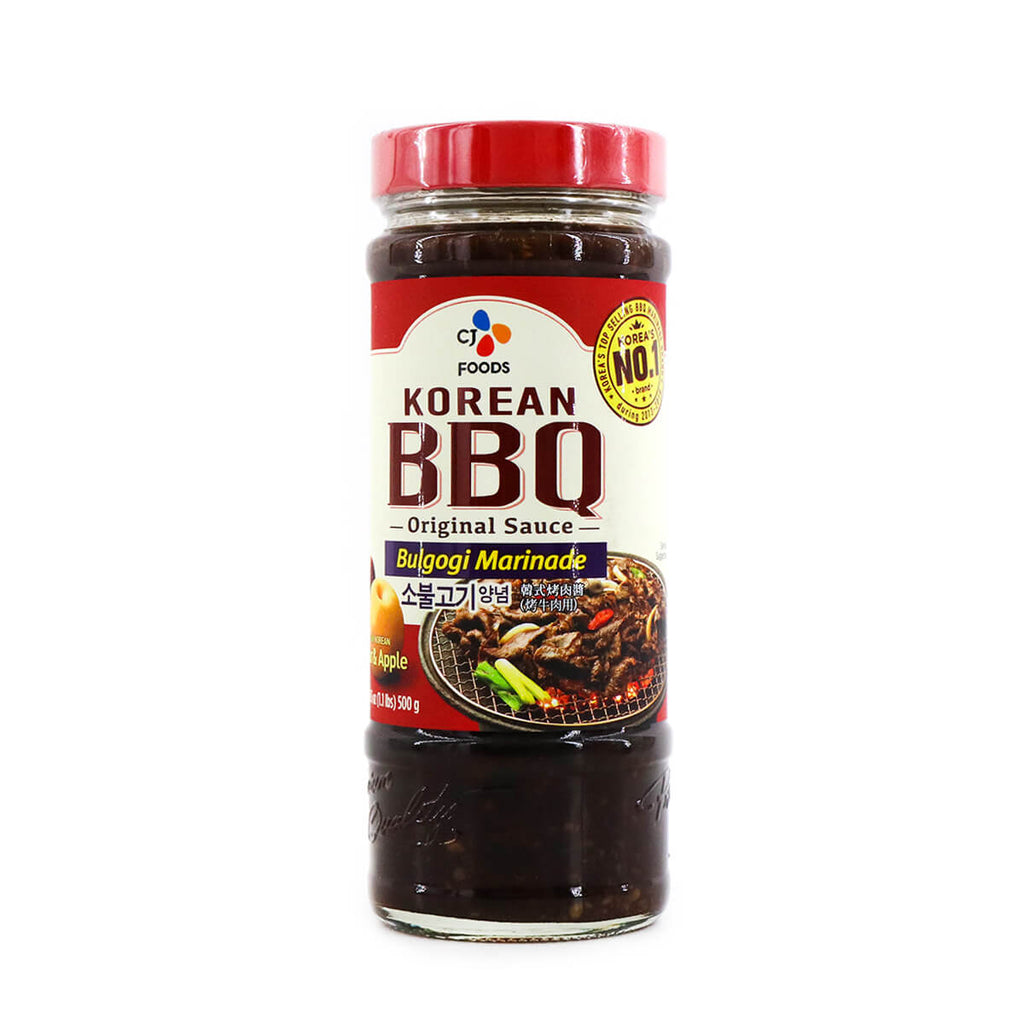 CJ Bulgogi Marinade Korean BBQ Original Sauce 17.6oz (500g)