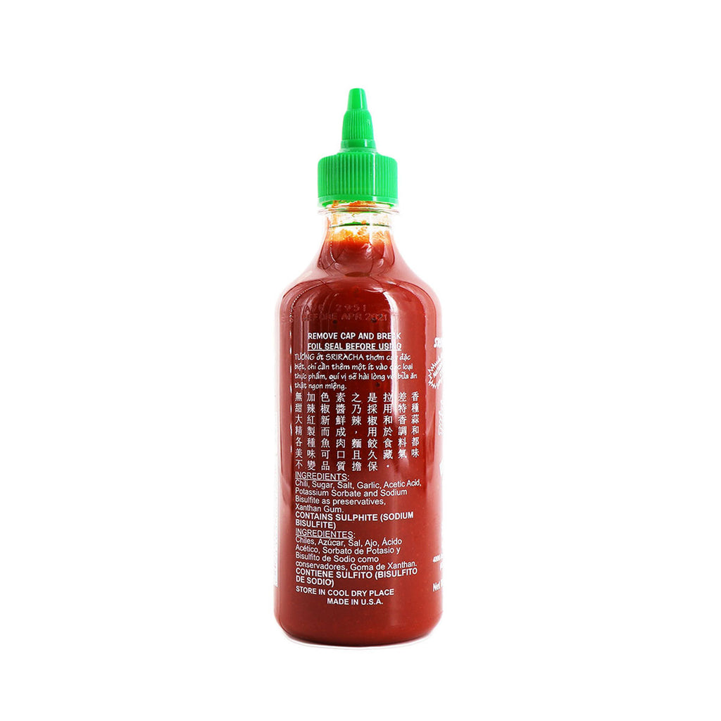 HUYFONG Sriracha Hot Chili Sauce 17oz (1.1lb) 481g