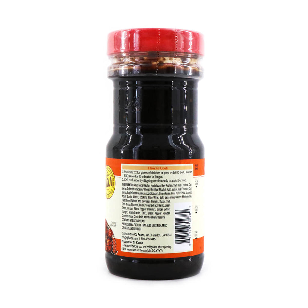 CJ Chicken & Pork Marinade Korean BBQ Original Sauce 29.7oz (840g)