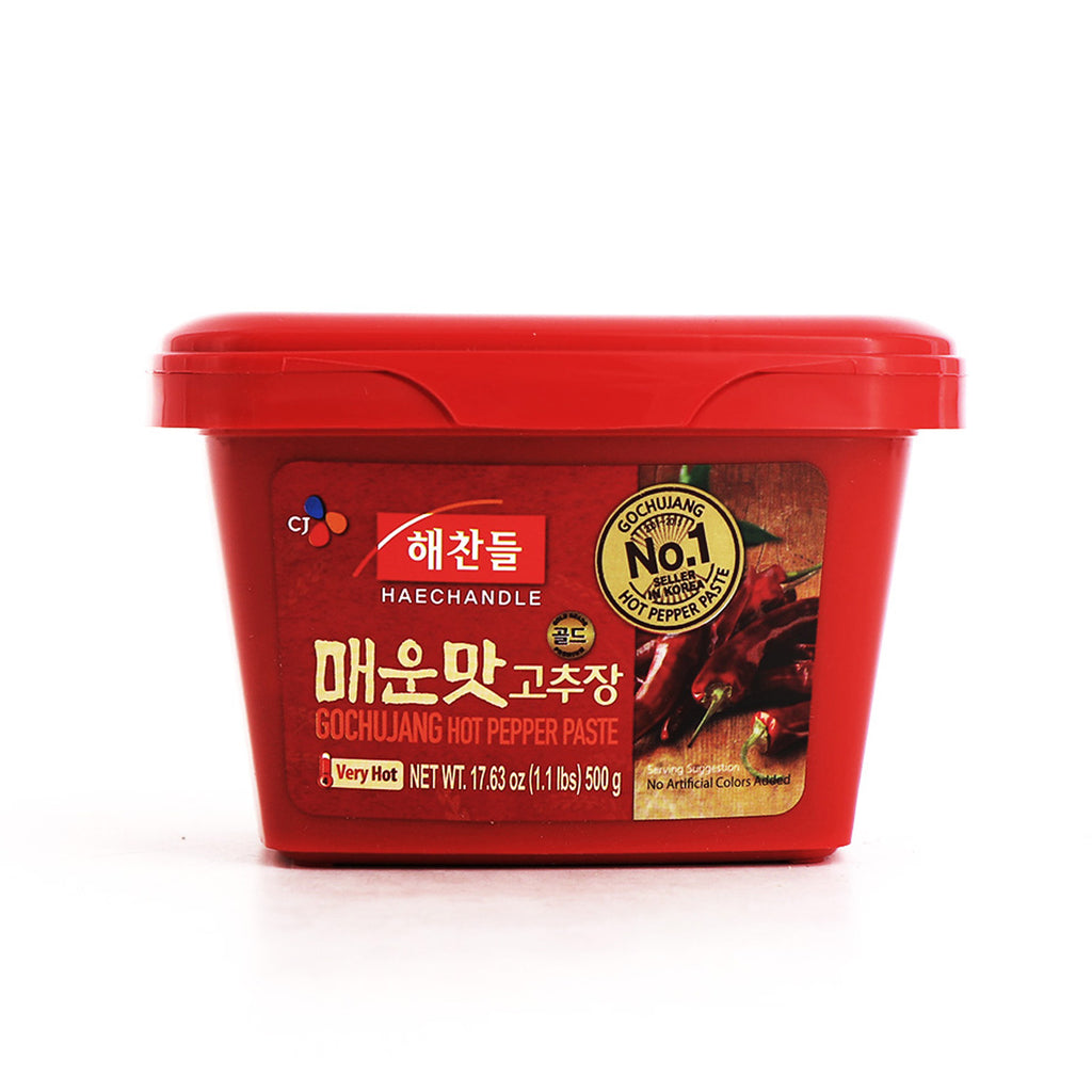 HAECHANDLE Gochujang Hot Pepper Paste Very Hot 17.63oz (1.1lbs) 500g