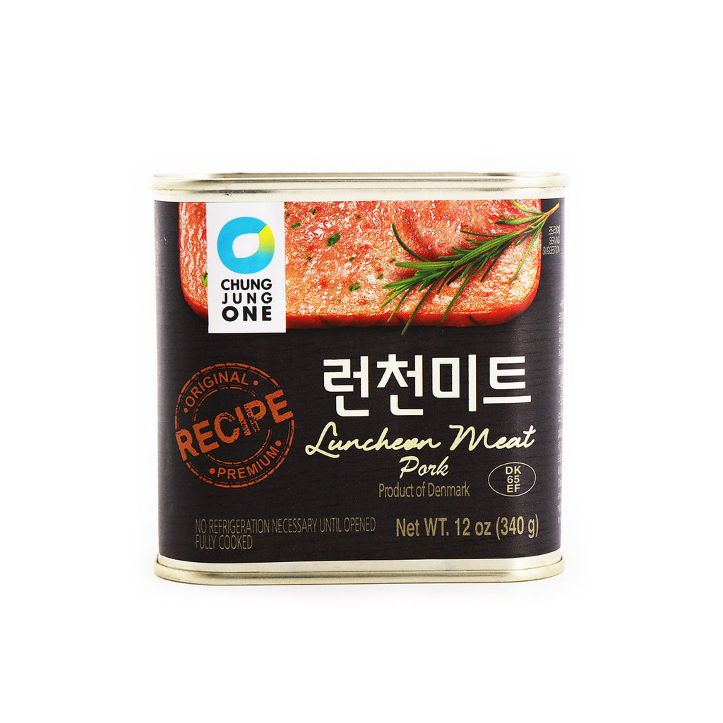 ChungJungOne Luncheon Meat Pork 12oz(340g)