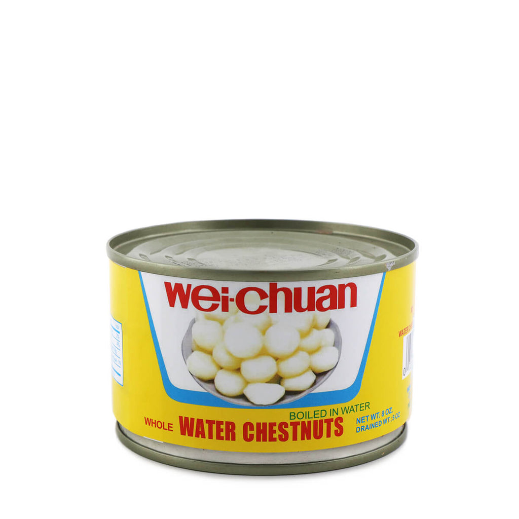 WEI-CHUAN Water Chestnuts Whole 8oz