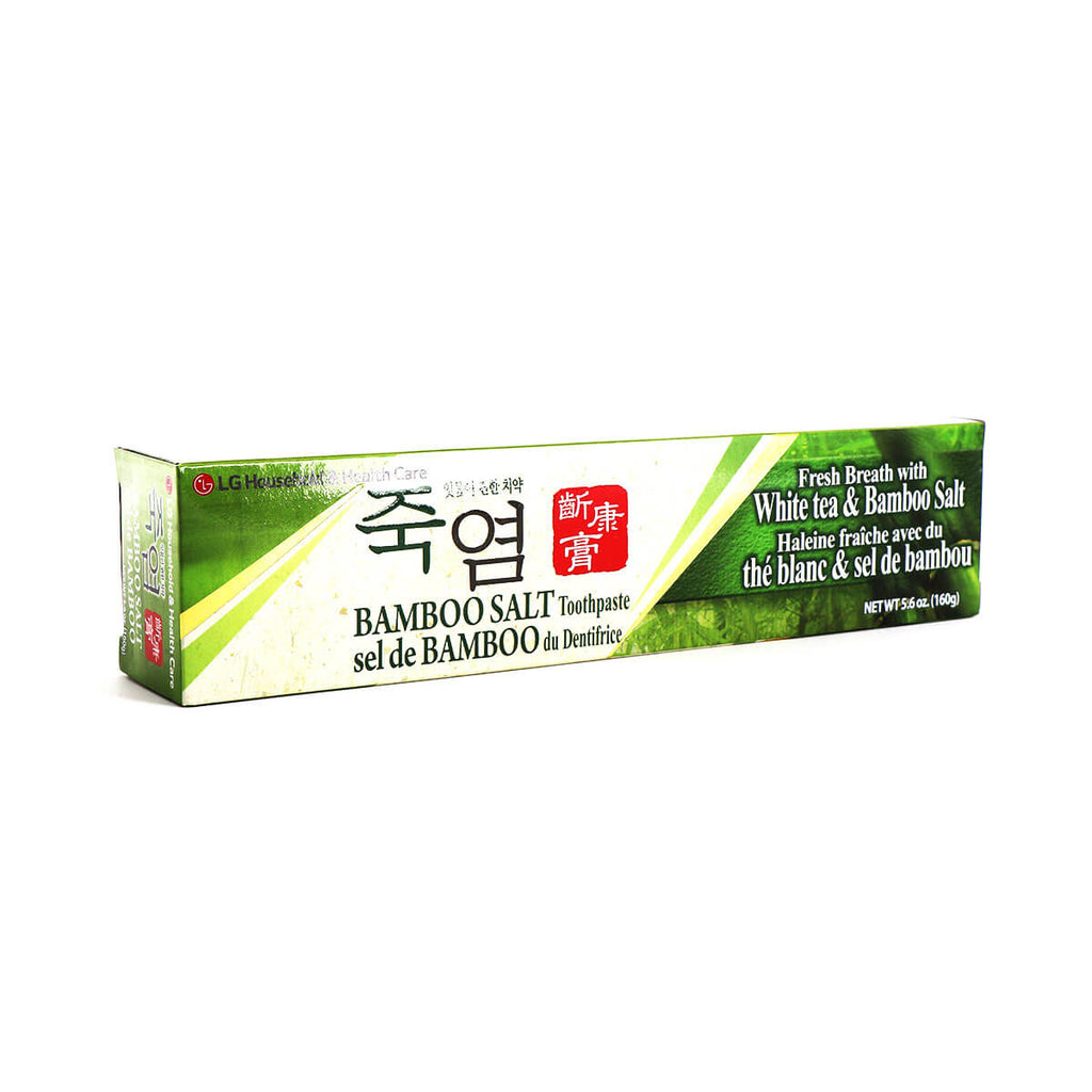 LG HOUSEHOLD & HEALTH CARE Bamboo Salt Toothpaste 5.6oz (160g)