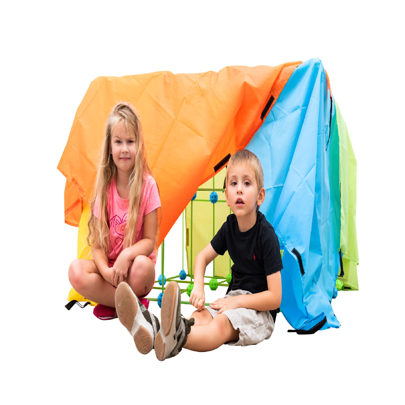 Construction Fortress Building Kit for Kids