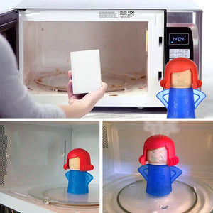 Microwave Cleaner - Angry Mama