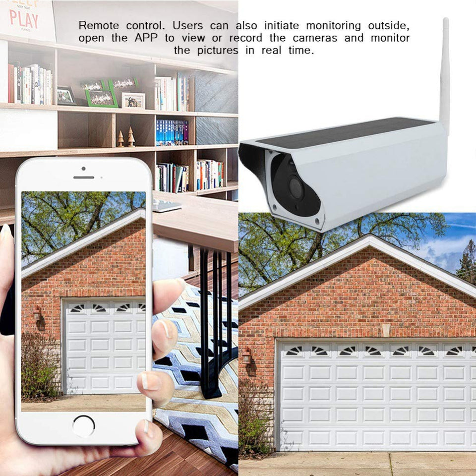 SOLAR - Full HD Video Surveillance Camera