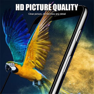 9D Radiant Protective Tempered Glass for iPhone 6,7,8 Xr,Xs,XS Max,Plus