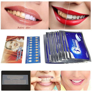3D Gel Teeth Whitening Strips
