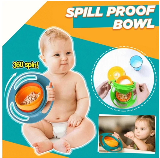 Spill-Proof Baby Bowl