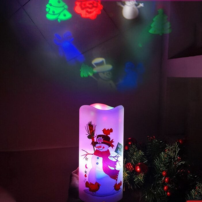 Christmas Projection Lamp