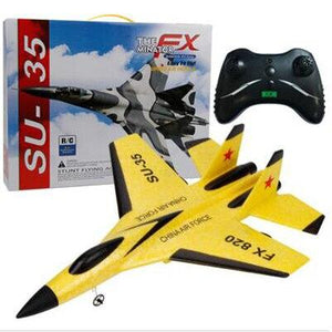 RC Battle Plane Toy Hand Throwing