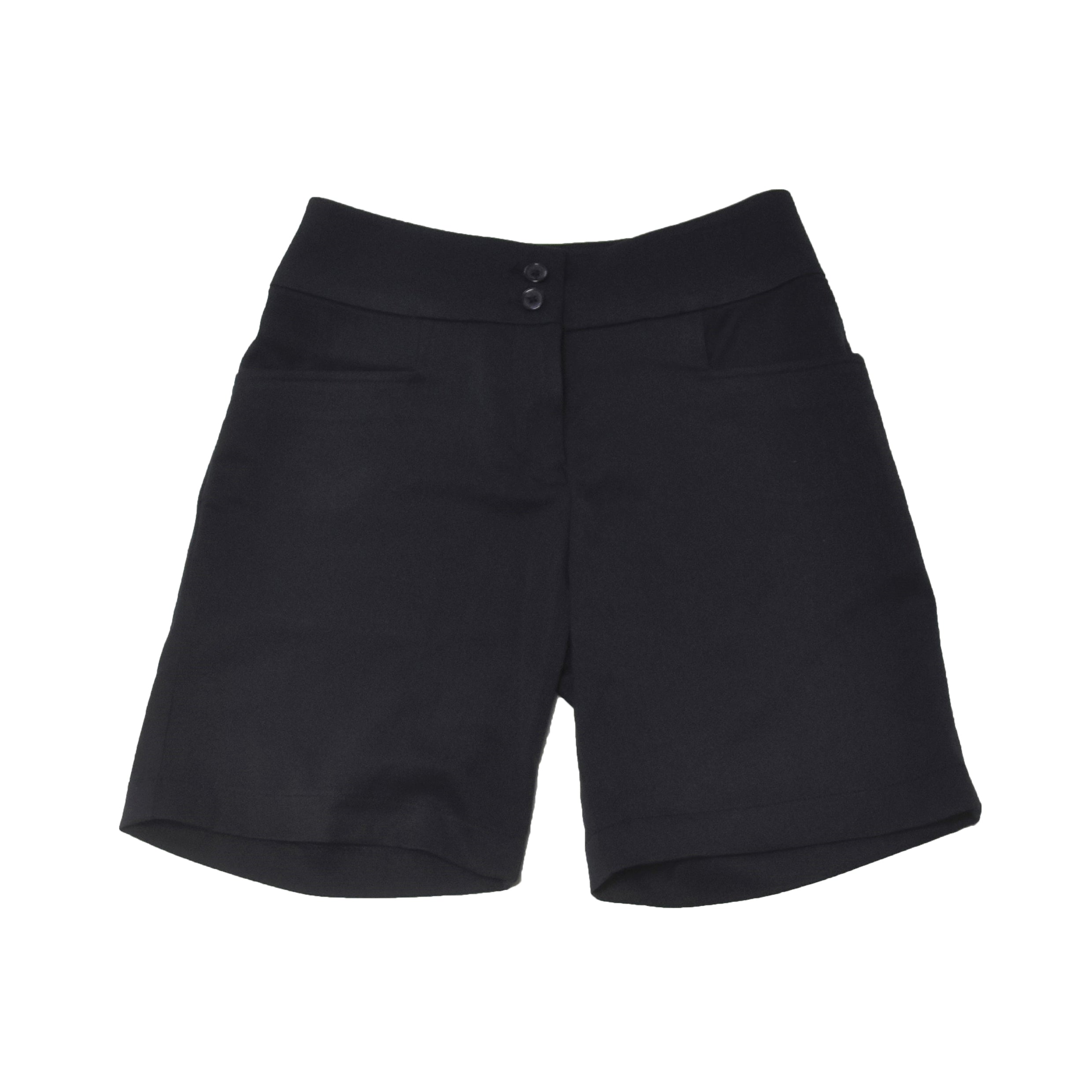 Navy Tailored Shorts (Ladies)