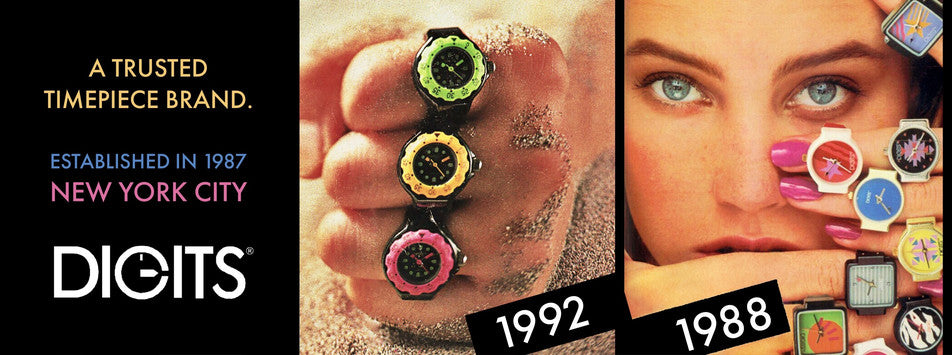 A Trusted Watch Brand since 1987. Ring Watches by Digits.
