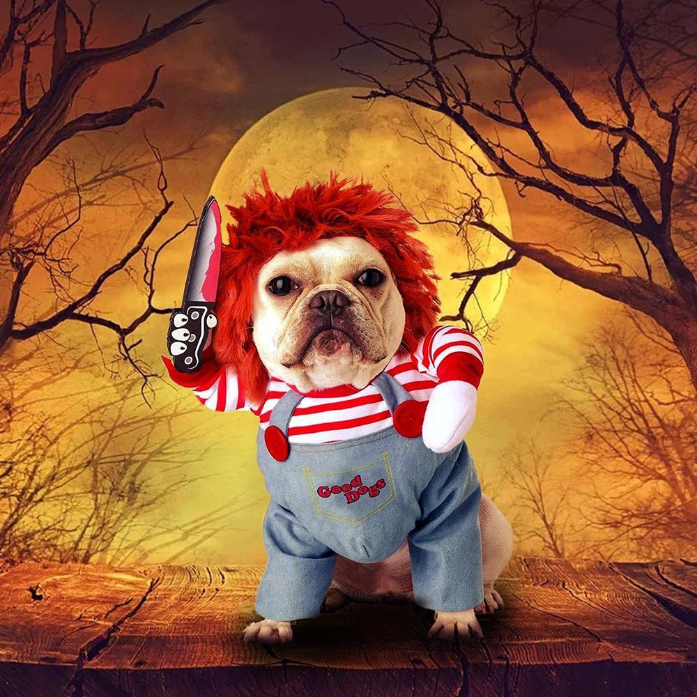 Halloween - Deadly Doll Pet Costume