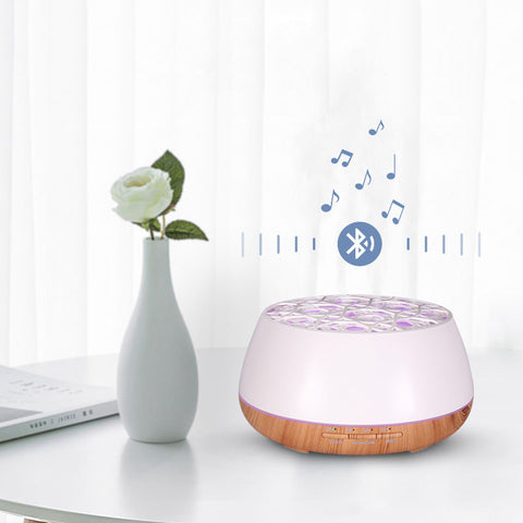 4-Hole Spray Bluetooth Speaker Aroma Lamp
